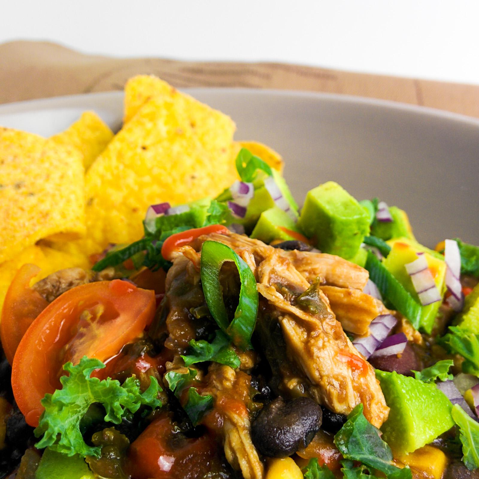 IJK Healthy chili con pollo