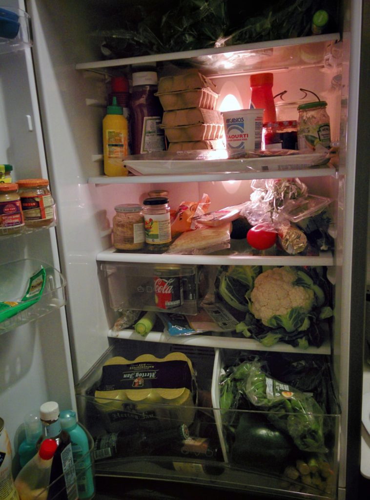 pros and cons of keto diet filled fridge